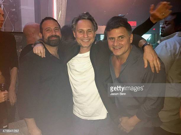 Andy Masi Jason Binn DuJour Media Founder and Andrew Sasson circa on May 2015 in Las Vegas