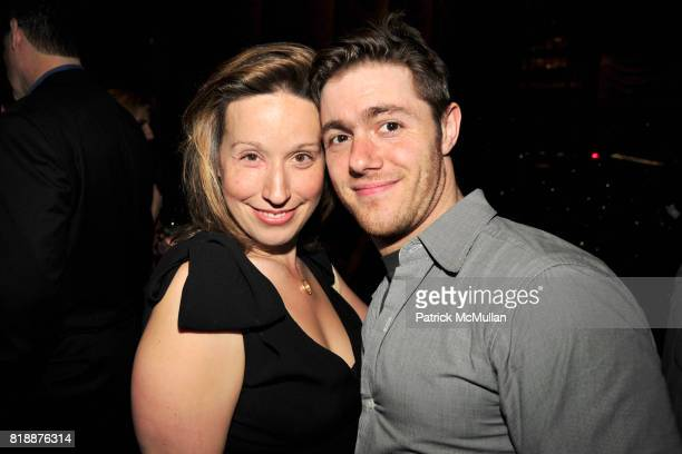 Andy McNicoll and Jacob Bernstein attend Book Release Party for VICKY WARD's New Book 'THE DEVIL'S CASINO' at Four Seasons Restaurant on April 7 2010...