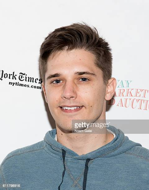 Andy Mientus attends the 30th annual Broadway flea market and grand auction at Music Box Theatre on September 25 2016 in New York City
