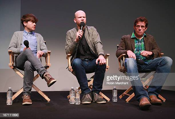 Andy Mientus Emanuel HossDesmarais and Thomas Haden Church attend Apple Store Soho Presents Whitewash at the Apple Store Soho during the 2013 Tribeca...