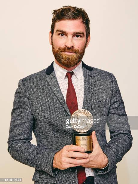 Andy Mills of Caliphate poses for a portrait during The 78th Annual Peabody Awards Ceremony on May 18 2019 in New York City