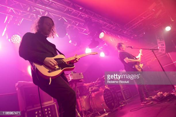 Andy Monaghan and Adam Thompson of We Were Promised Jetpacks perform on stage at The Liquid Room on December 1 2019 in Edinburgh Scotland