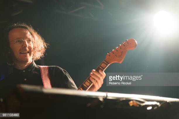 Andy Monaghan of Frightened Rabbit performs on stage at The Liquid Room on March 12 2018 in Edinburgh Scotland