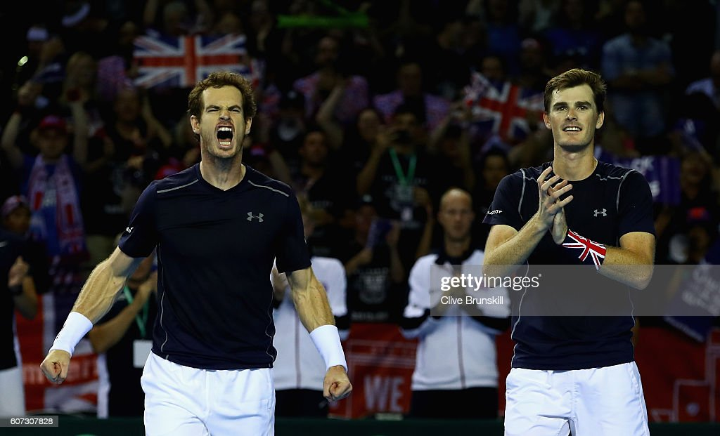Great Britain v Argentina: Davis Cup Semi Final 2016 - Day Two : News Photo
