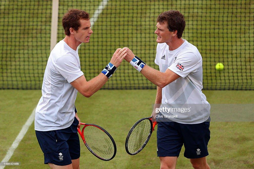 Olympics Day 1 - Tennis : News Photo