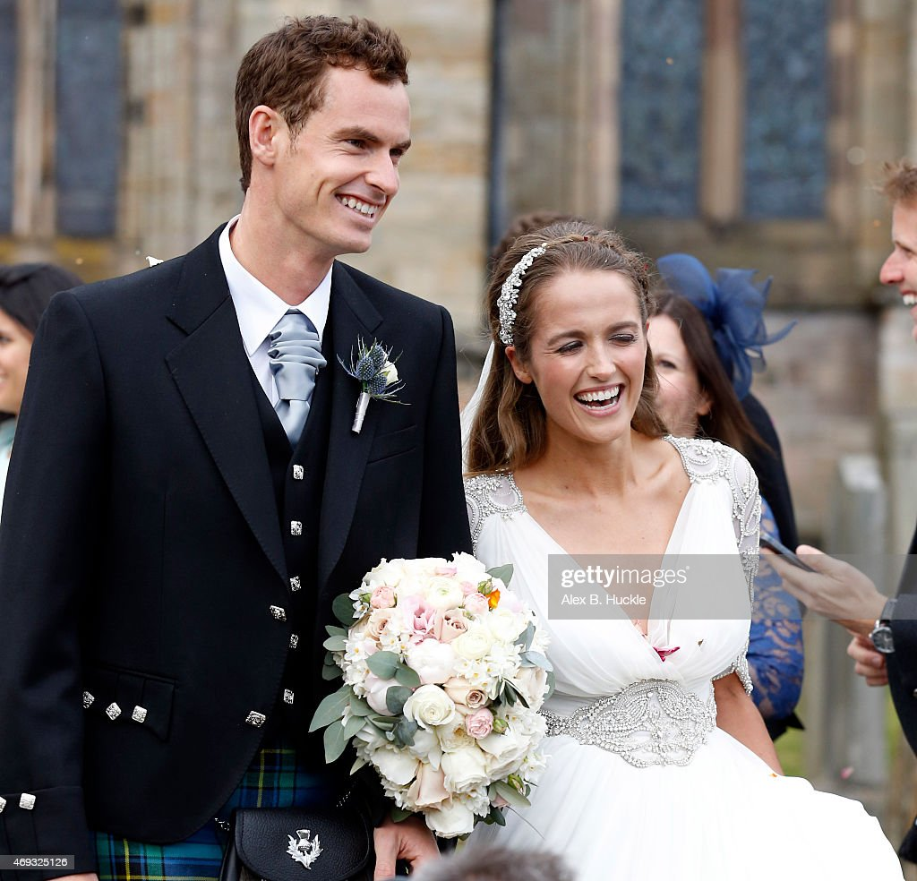 The Wedding Of Andy Murray And Kim Sears : News Photo