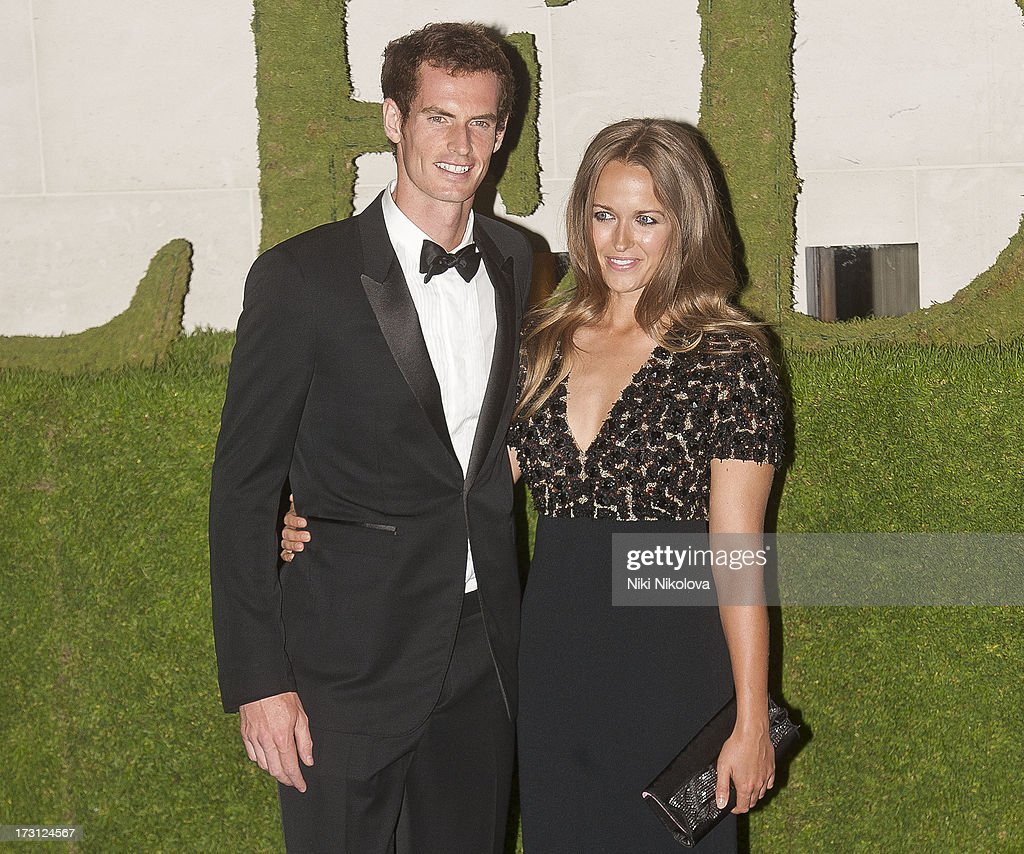 Andy Murray and Kim Sears sighting at the InterContinental Park Lane Hotel on July 7, 2013 in London, England.