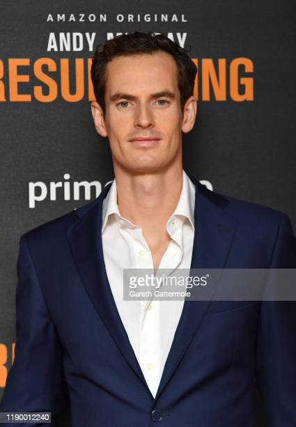 """Andy Murray attends the """"Andy Murray: Resurfacing"""" world premiere at the Curzon Bloomsbury on November 25, 2019 in London, England."""