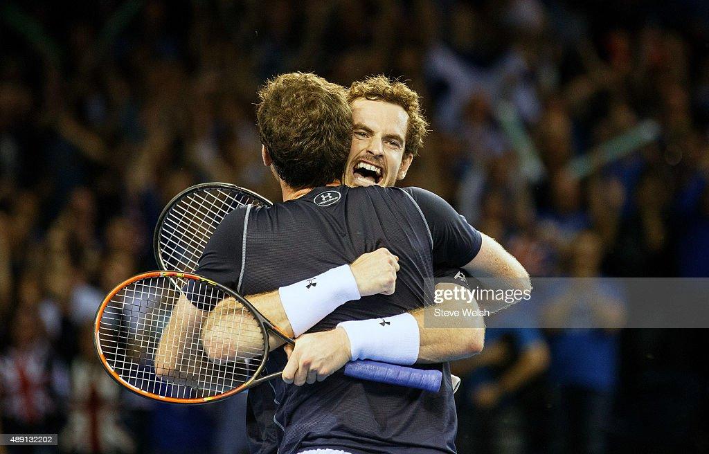 Great Britain v Australia Davis Cup Semi Final 2015 - Day 2 : News Photo