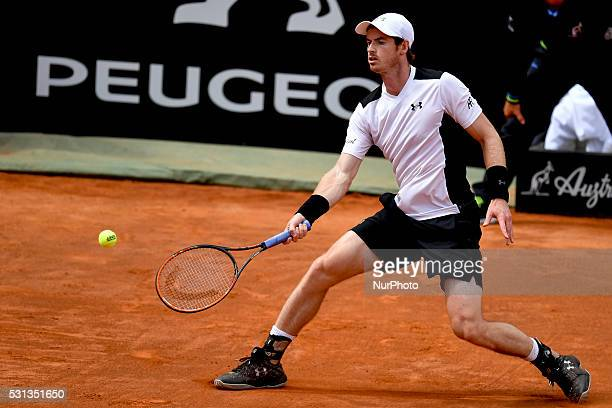 Andy Murray during the ATP match Goffin vs Murray at the Internazionali BNL d'Italia 2016 at the Foro Italico on May 13 2016 in Rome Italy