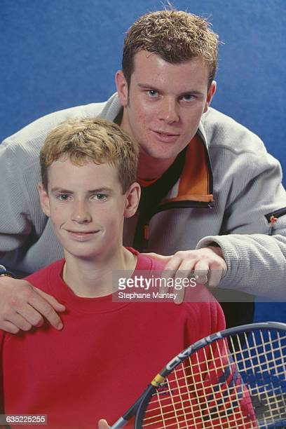 Andy Murray from Great Britain during 2001 Les Petits As Tournament