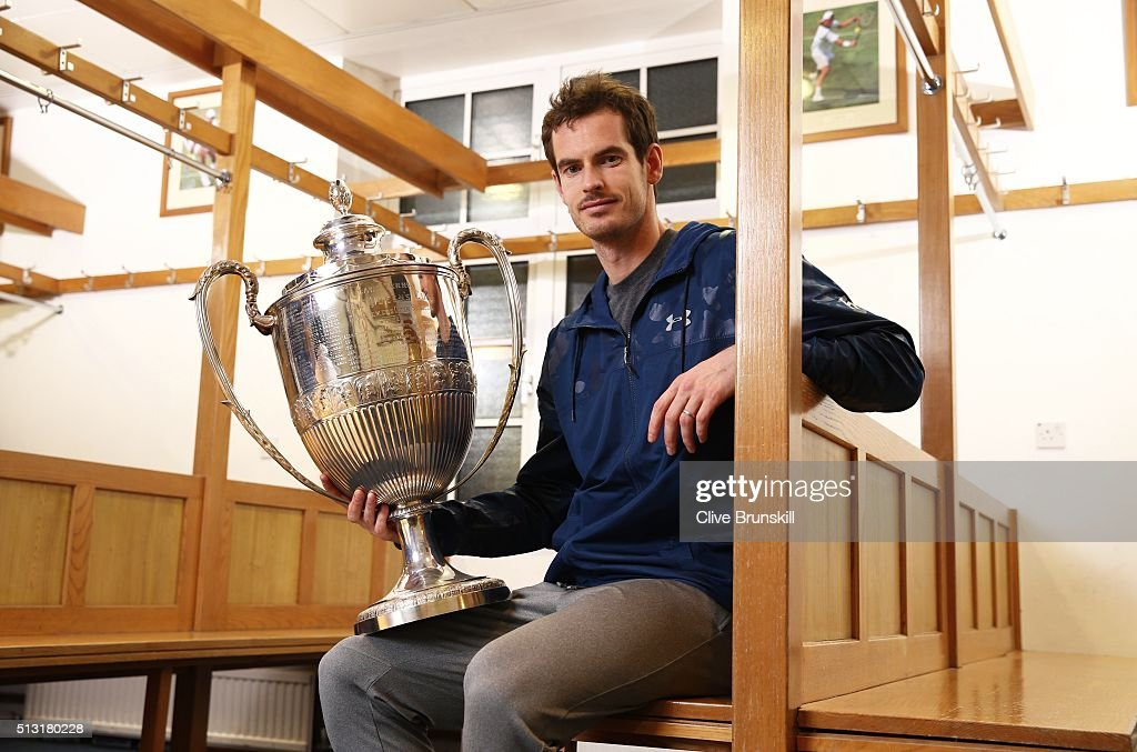 Andy Murray Aegon Championships Photocall