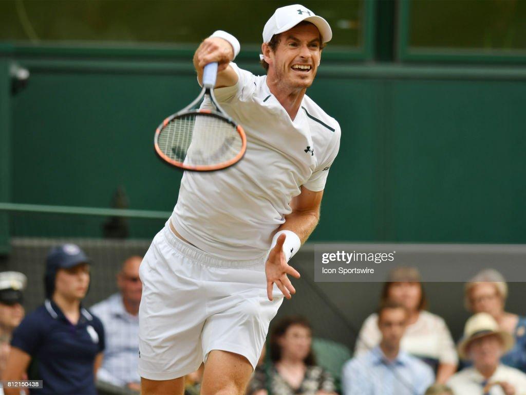 TENNIS: JUL 10 Wimbledon : News Photo