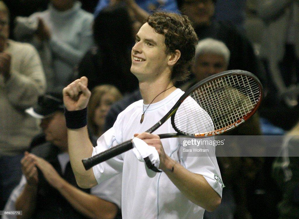 SAP Open - Murray v Hewitt : ニュース写真