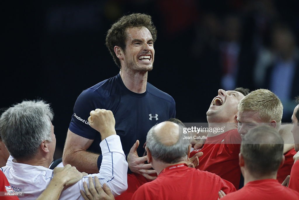 Belgium v Great Britain: Davis Cup Final 2015 - Day Three : News Photo