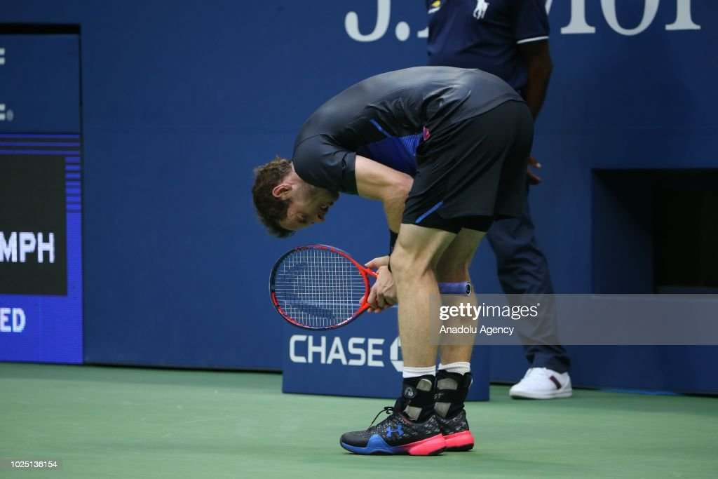 US Open 2018: Andy Murray vs Fernando Verdasco : News Photo