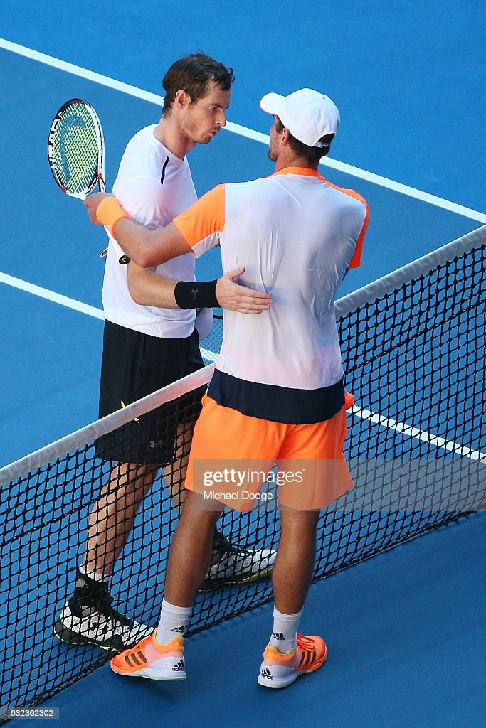 2017 Australian Open - Day 7 : Foto di attualità