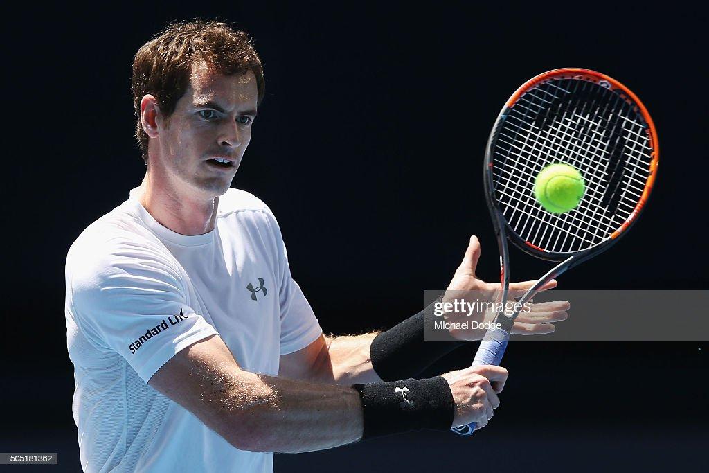2016 Australian Open - Previews : ニュース写真