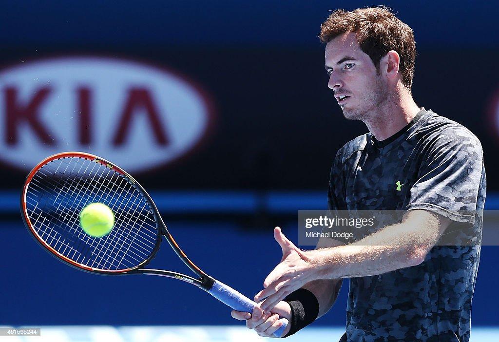 2015 Australian Open - Previews : ニュース写真