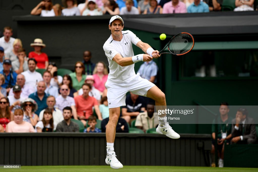 Day One: The Championships - Wimbledon 2017 : Foto di attualità