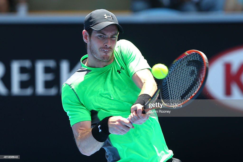 2015 Australian Open - Day 3 : News Photo