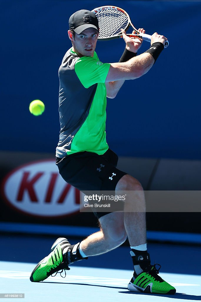 2015 Australian Open - Day 5 : News Photo