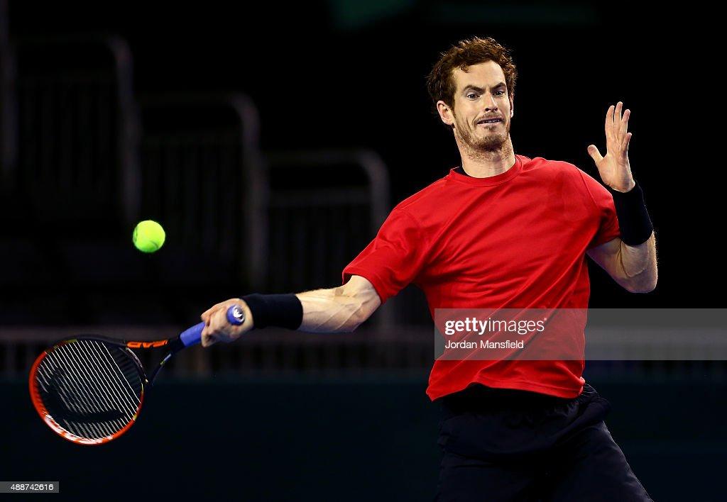 Great Britain v Australia Davis Cup Semi Final 2015 - Previews : News Photo