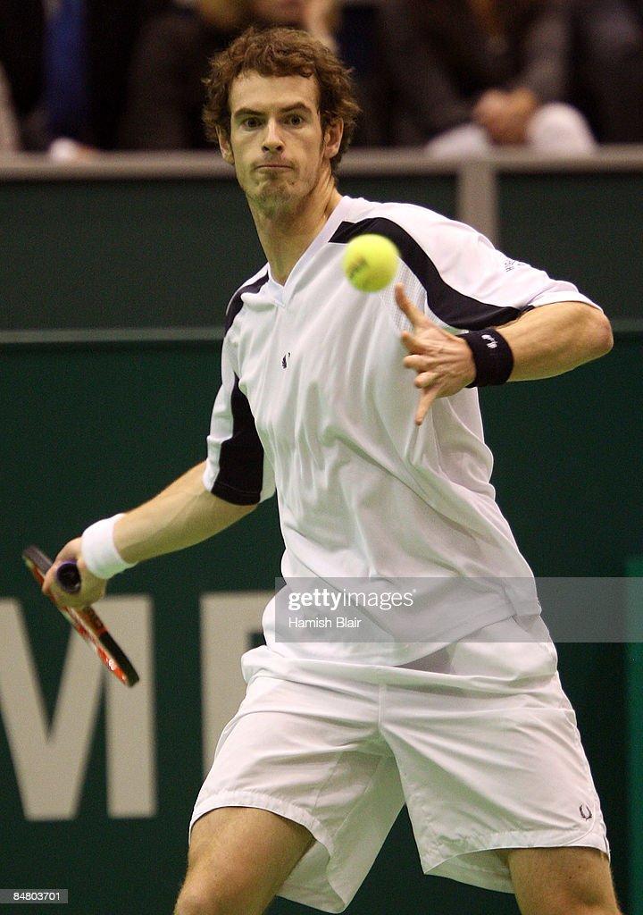 ABN AMRO World Tennis Tournament - Day Seven : Foto jornalística
