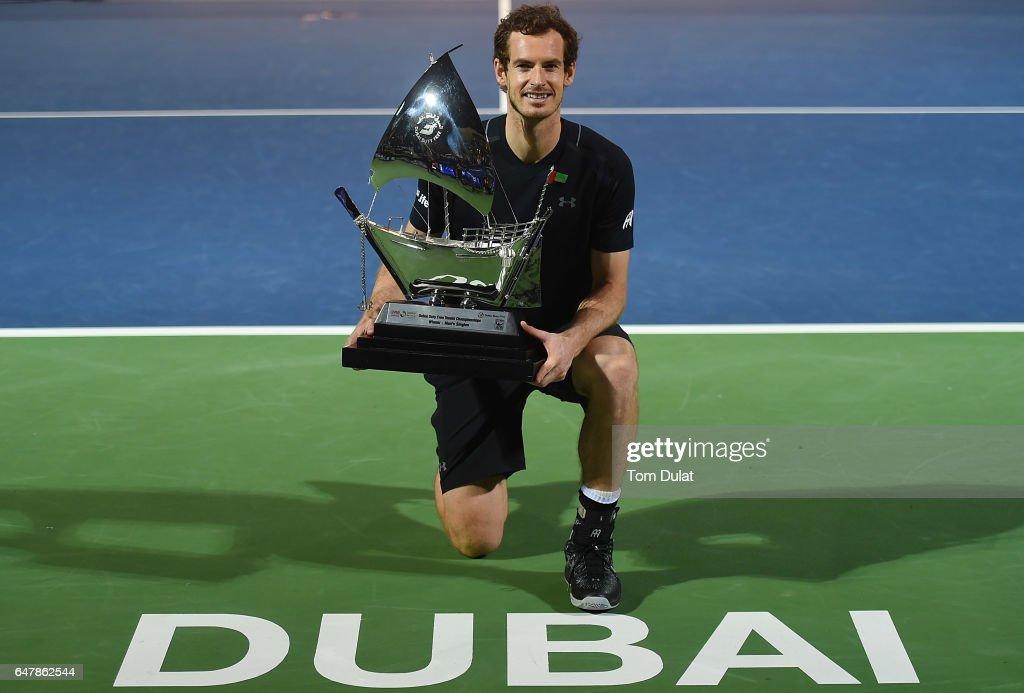 ATP Dubai Duty Free Tennis  Championship - Day Seven : News Photo