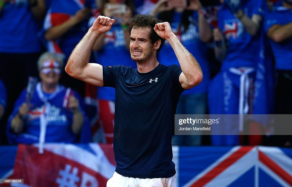 Belgium v Great Britain: Davis Cup Final 2015 - Day Three