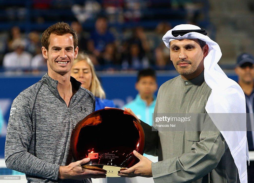 Mubadala World Tennis Championship - Day Three : News Photo