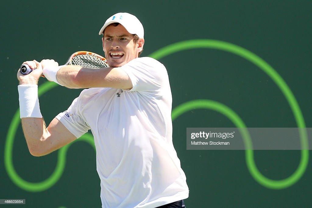 Miami Open Tennis - Day 12 : News Photo