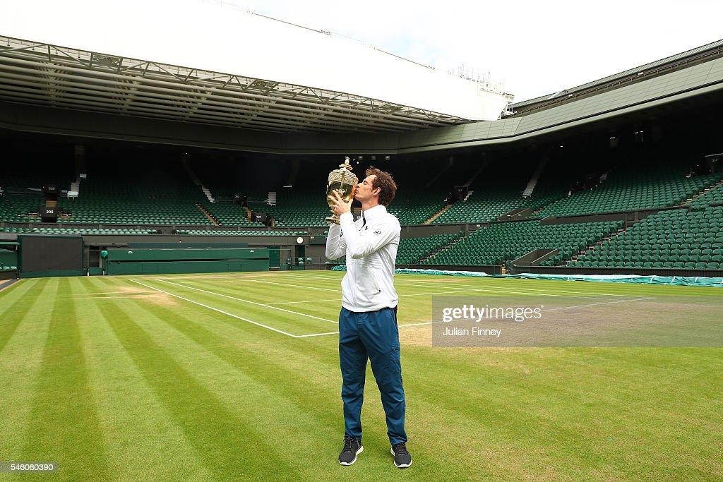Wimbledon Winner Andy Murray Photocall : News Photo
