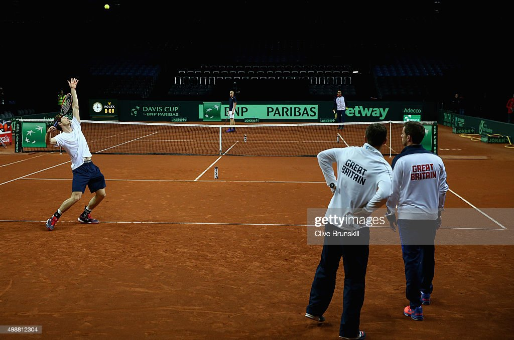 Belgium v Great Britain: Davis Cup Final 2015 - Previews