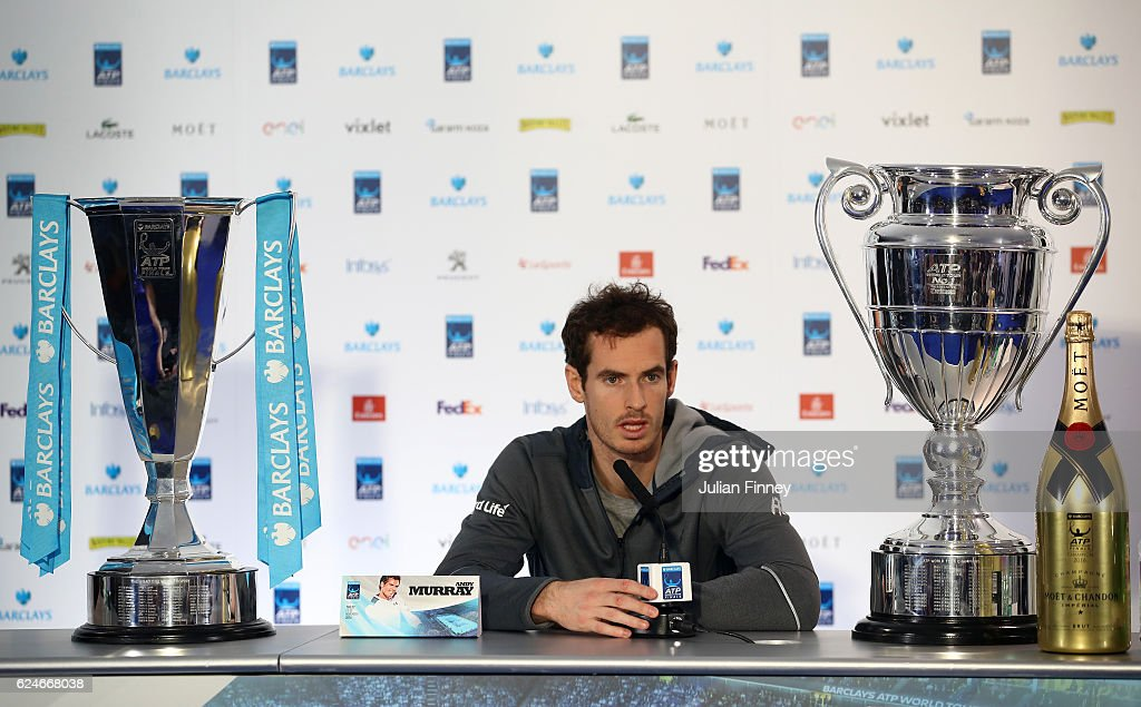 Day Eight - Barclays ATP World Tour Finals : News Photo