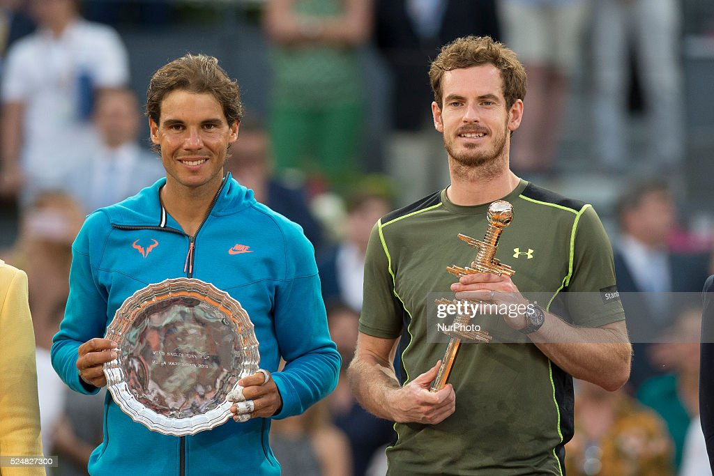 Madrid Open Tennis 2015:Andy Murray vs Rafael Nadal : News Photo