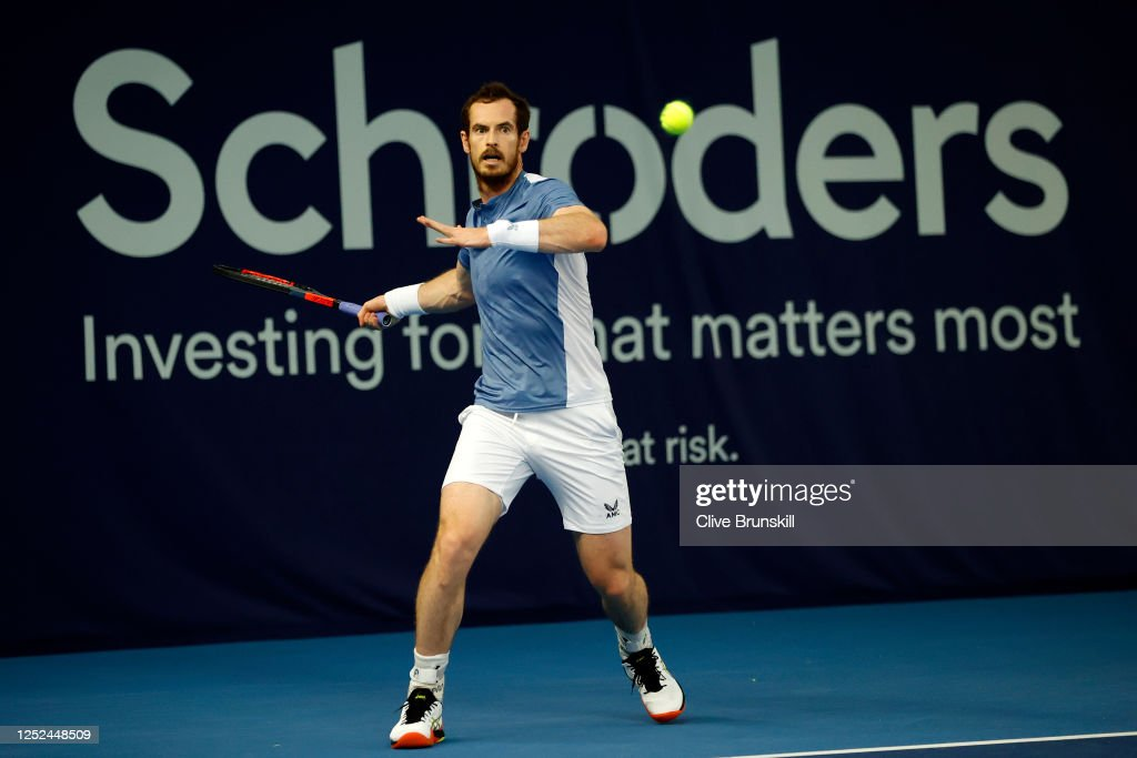 Schroders Battle Of The Brits - Day 3 : News Photo