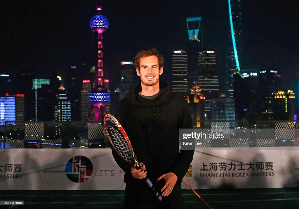 2015 Shanghai Rolex Masters - Day 1 : News Photo