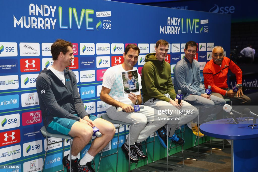 Andy Murray Live 2017 : News Photo
