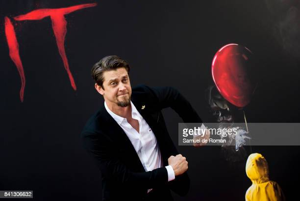 Andy Muschietti attends the 'IT' premiere at Spanish Cinema Academy on August 31 2017 in Madrid Spain