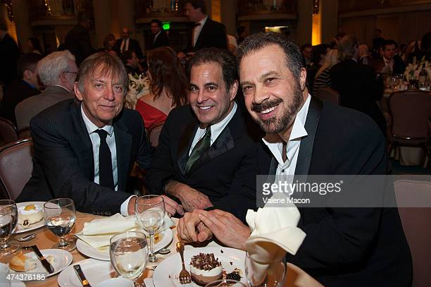 Andy Nelson Ted Gagliano and Edward Zwick attend the 50th Annual CAS Awards From The Cinema Audio Society at Millennium Biltmore Hotel on February 22...