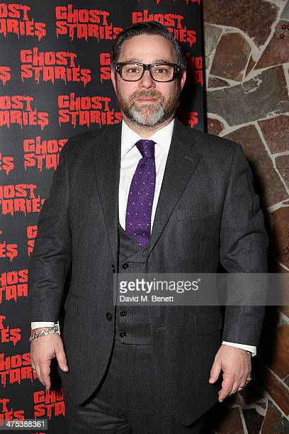 Andy Nyman attends the after party for the press night of Ghost Stories at on February 27 2014 in London England