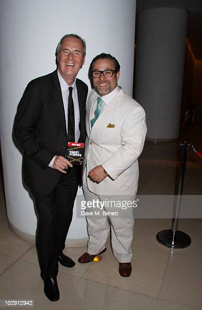 Andy Nyman attends the Ghost Stories Press Night Party held on July 14 2010 at the St Martins Lane Hotel in London England