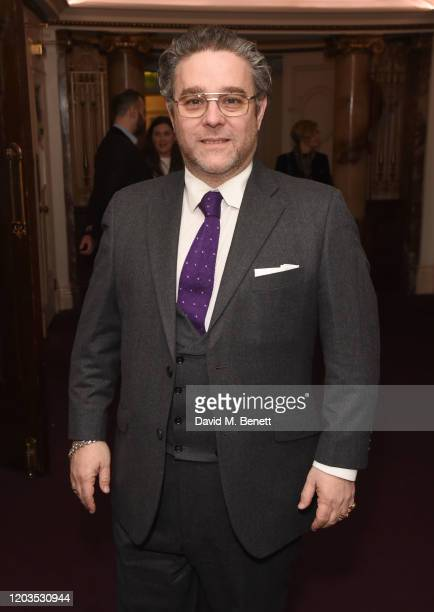 Andy Nyman attends the press night performance of Madam Butterfly part of the English National Opera's 2019/20 season at The London Coliseum on...
