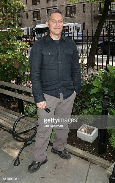 Andy Ostroy widower of Adrienne Shelly and executive director of the Adrienne Shelly Foundation attends the Adrienne Shelly Memorial Garden...