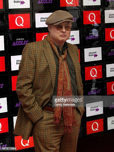Andy Partridge attends the Q Awards at The Grosvenor House Hotel on October 22 2014 in London England