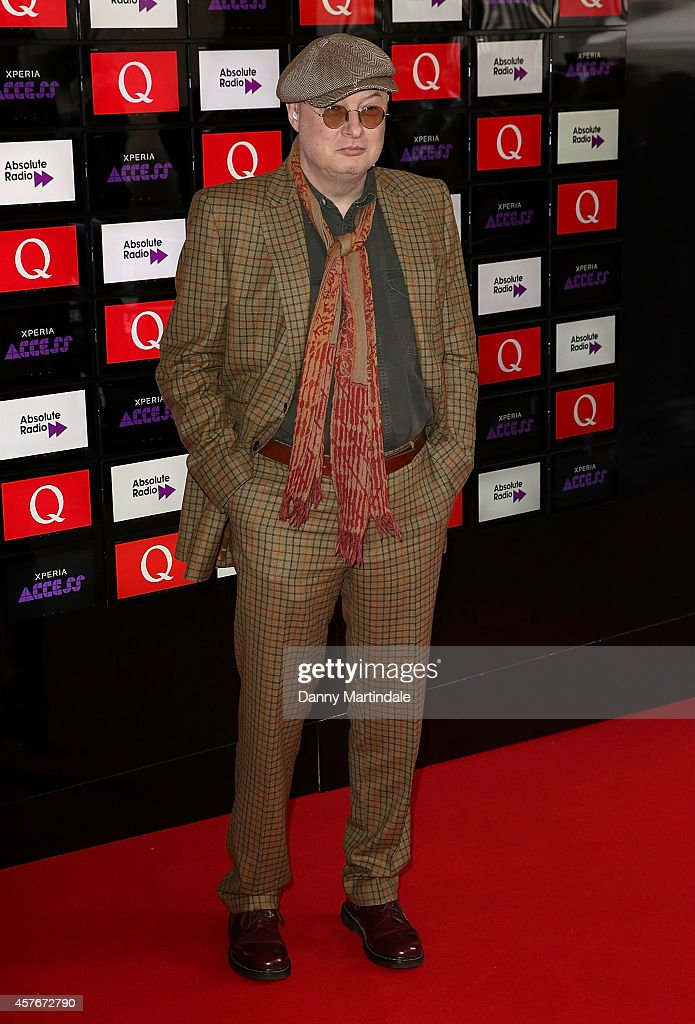 Andy Partridge attends the Q Awards at The Grosvenor House Hotel on October 22, 2014 in London, England.