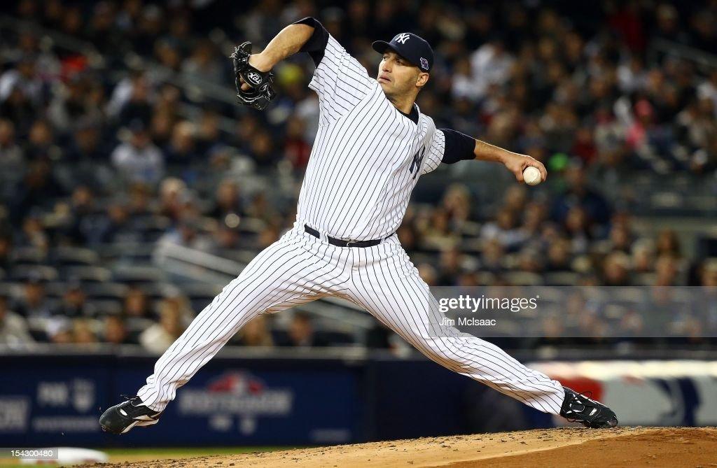 Detroit Tigers v New York Yankees - Game One : News Photo