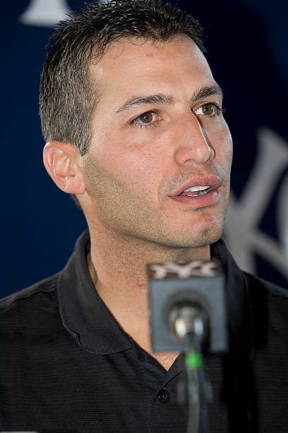 Andy Pettitte Addresses Media To Discuss Use Of HGH Photos and