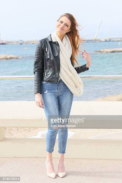Andy Raconte attends 'Webedia' photocall on April 5 2016 in Cannes France